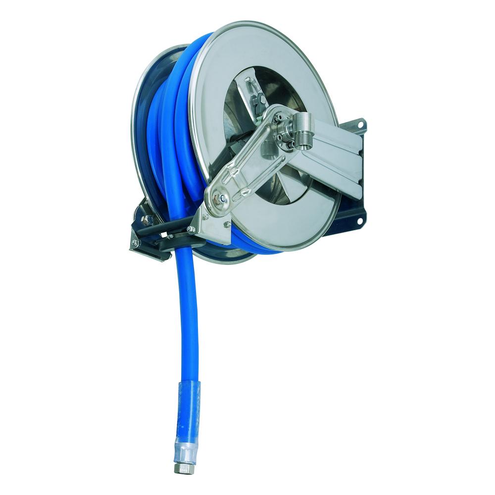 AV1200 - Carretes de mangueras para agua - Alto flujo 0-100 BAR / 0-1450 PSI
