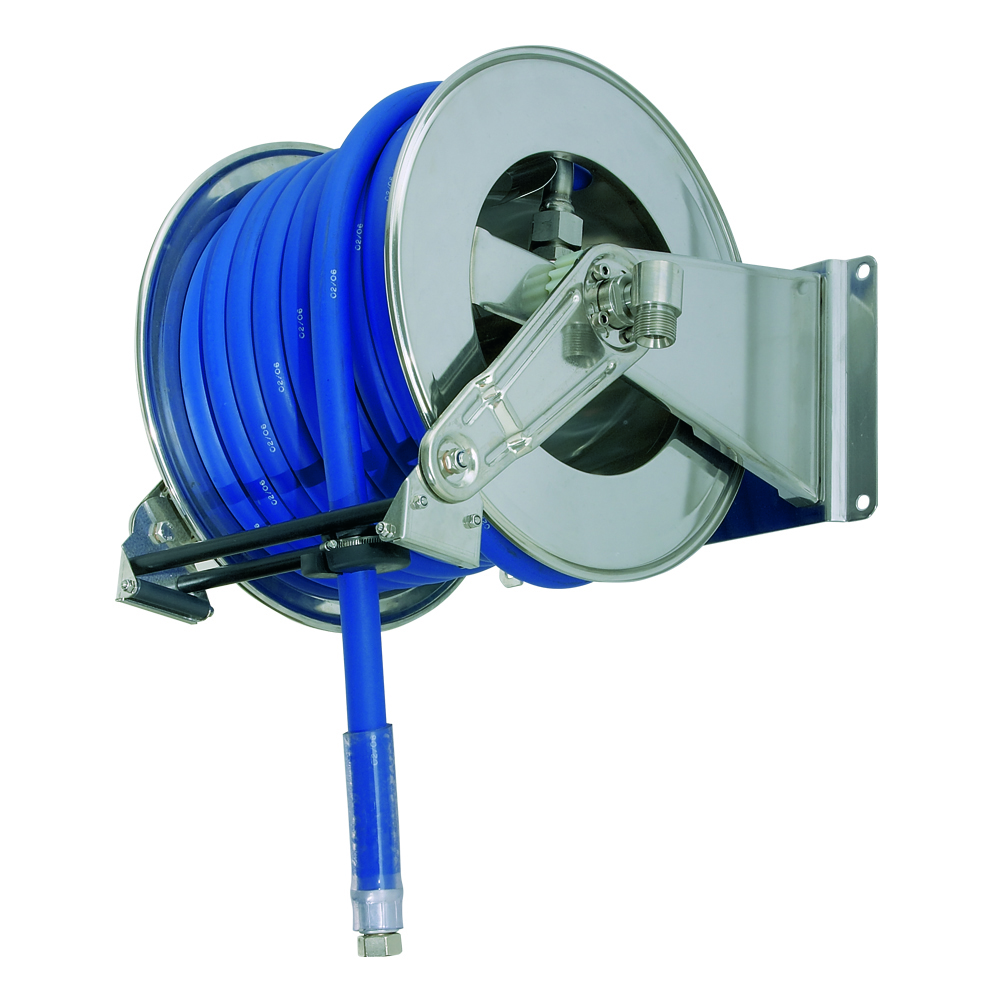AV1300 - Carretes de mangueras para agua - Alto flujo 0-100 BAR / 0-1450 PSI