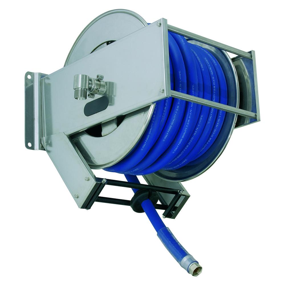 AV2300 - Carretes de mangueras para agua - Alto flujo 0-100 BAR / 0-1450 PSI