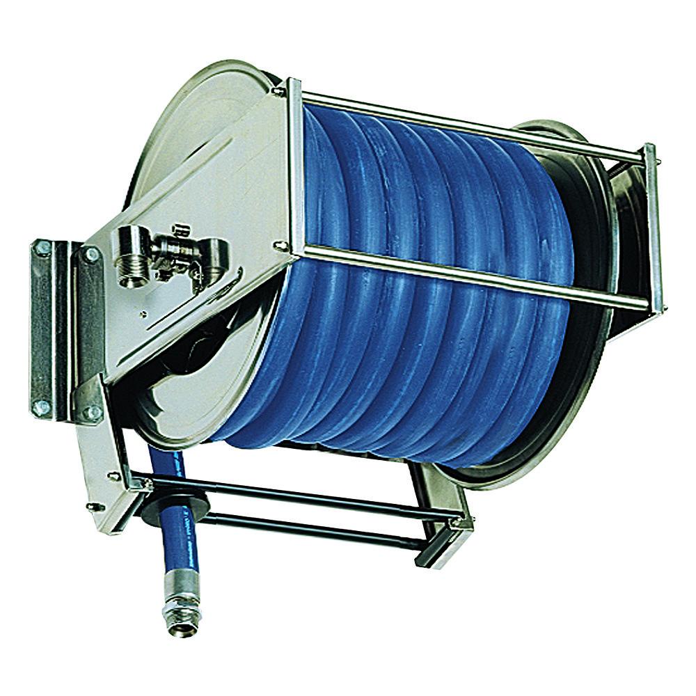 AV5000 - Carretes de mangueras para agua - Alto flujo 0-100 BAR / 0-1450 PSI