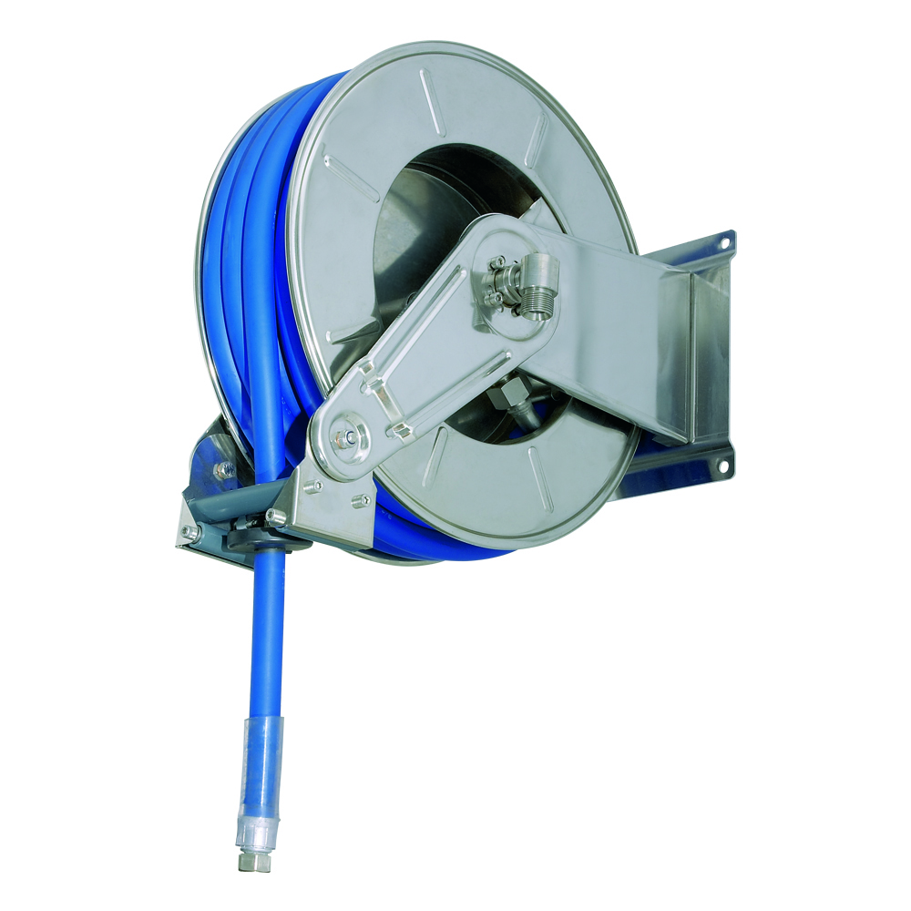AV3501 - Carretes de mangueras para agua - Alto flujo 0-100 BAR / 0-1450 PSI