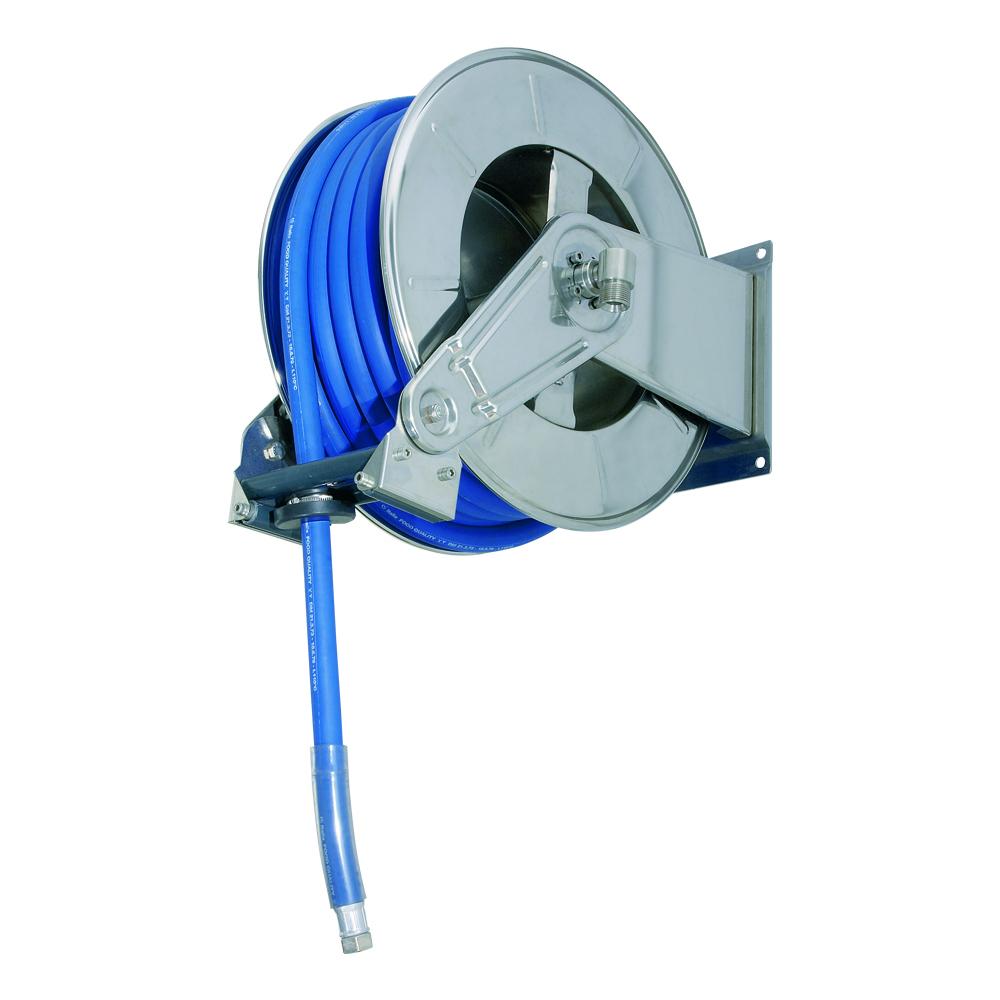 AV3502 - Carretes de mangueras para agua - Alto flujo 0-100 BAR / 0-1450 PSI