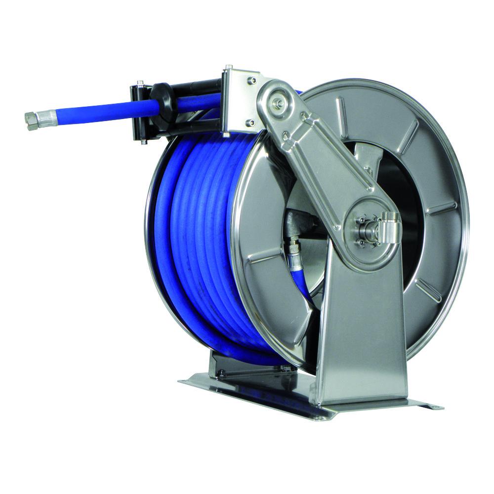 AV3503 - Carretes de mangueras para agua - Alto flujo 0-100 BAR / 0-1450 PSI
