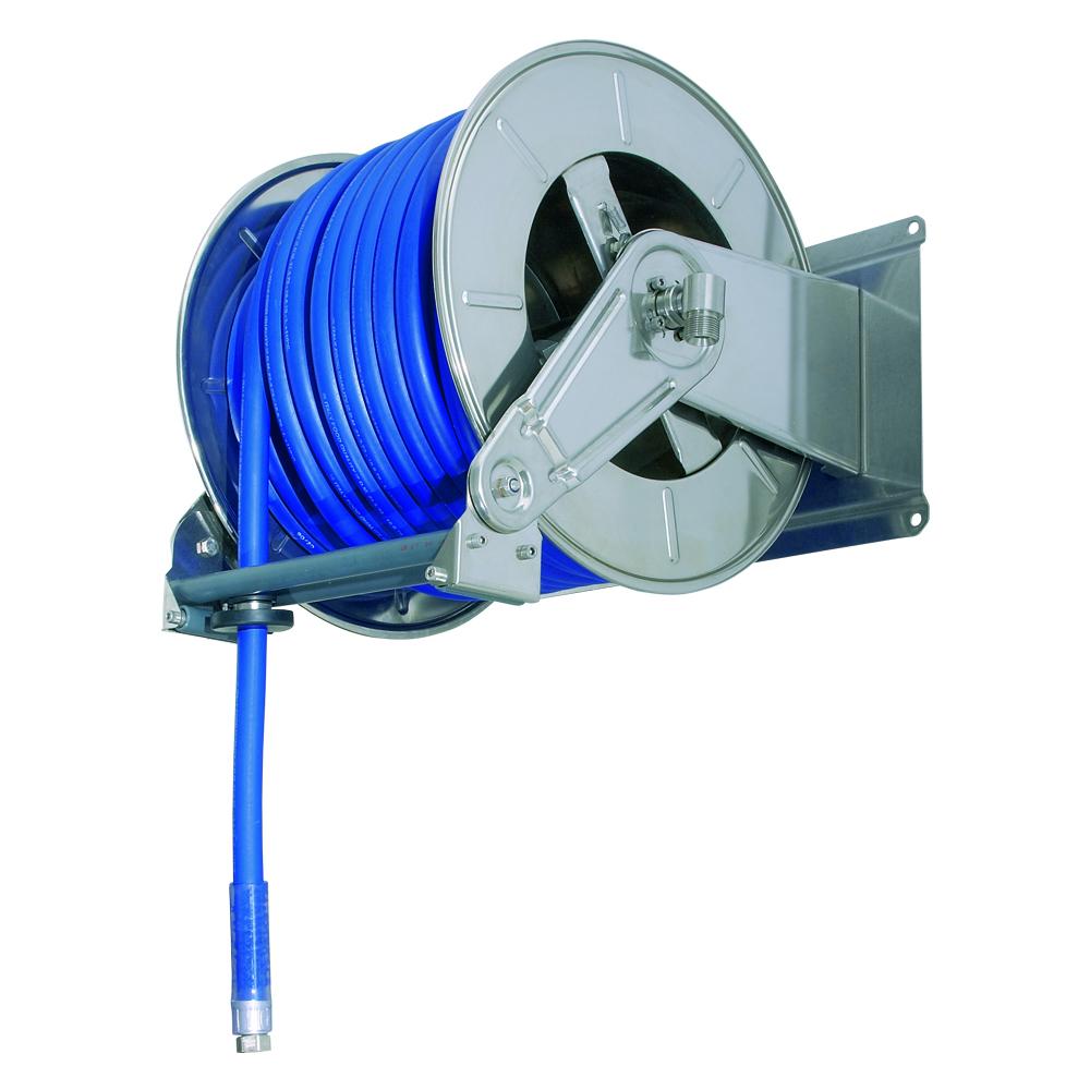 AV6001 - Carretes de mangueras para agua - Alto flujo 0-100 BAR / 0-1450 PSI