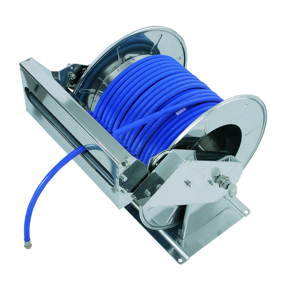 AV6001 SP - Carretes de mangueras para agua - Alto flujo 0-100 BAR / 0-1450 PSI
