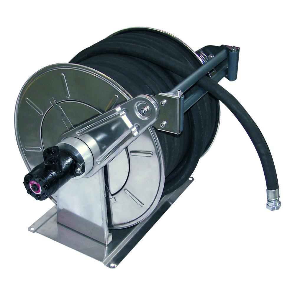 AV6500 - Carretes de la manguera del motor hidráulico