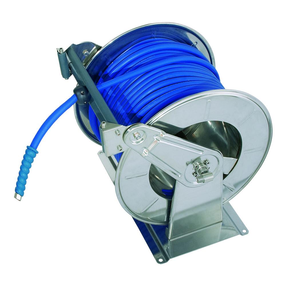 AVEK 0 S - Carretes de manguera con motor eléctrico (12 V - 24 V - 230 V - 400 V)